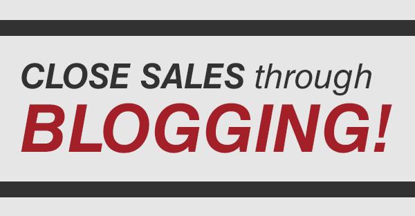 Close-sales-through-blogging