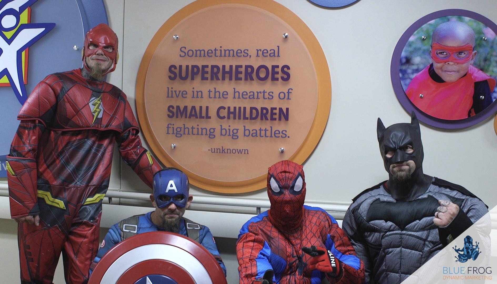 Superheros-sign