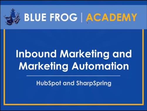 Inbound Marketing vs. Marketing Automation Webinar