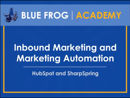 Inbound Marketing vs. Marketing Automation Webinar