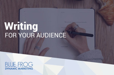 Writing for Your Audience