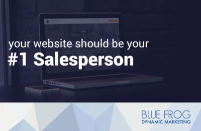 Website = #1 Salesperson!