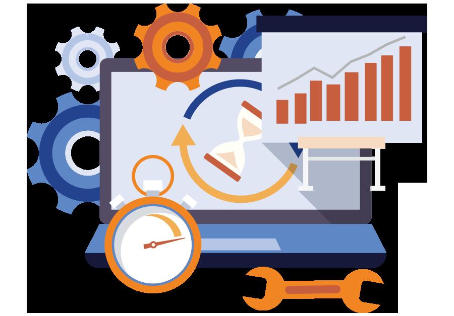 Web Design Analysis Graphics