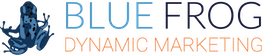 Blue Frog Marketing Logo