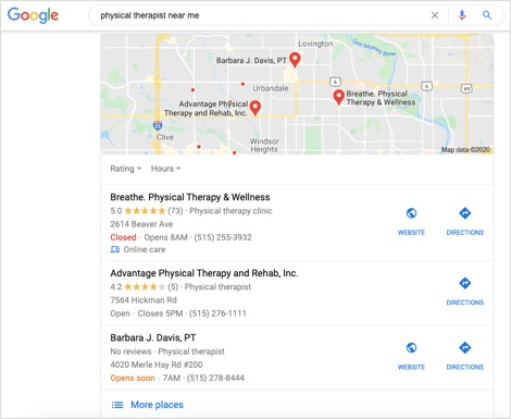 google-local-pack-example