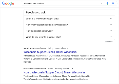 wisconsin-supper-clubs-organic-search-results