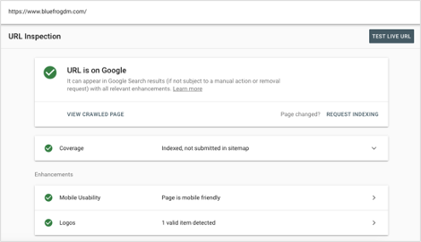 Google Search Console URL Inspection Tool Overview