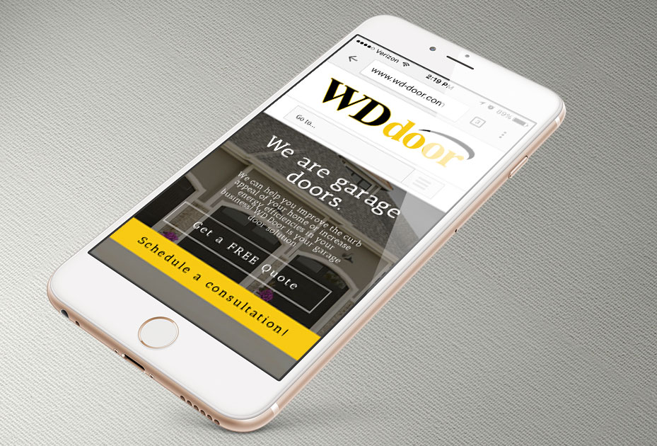 WD Door Website Design