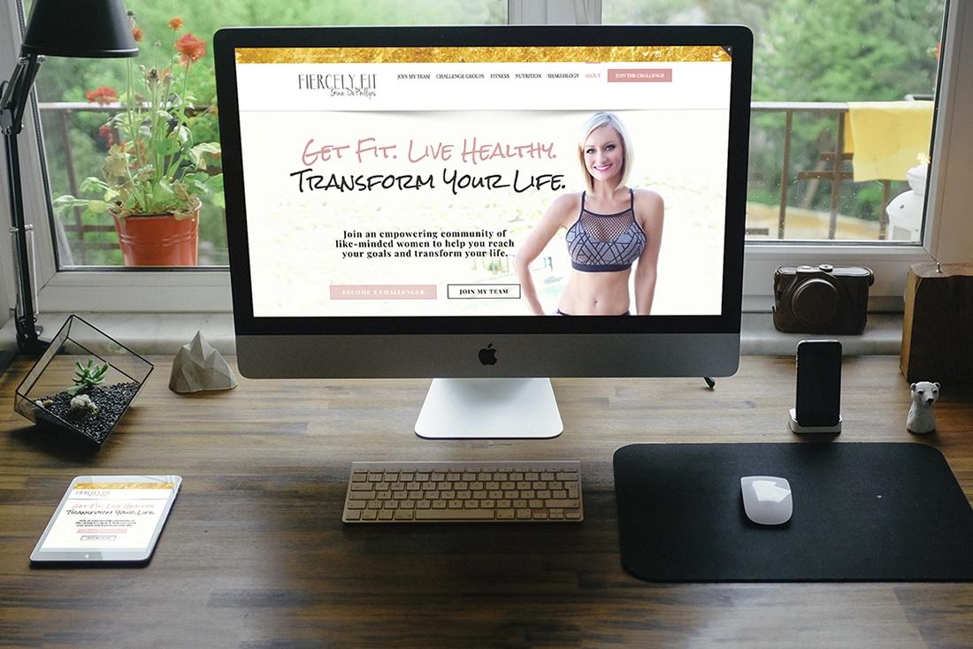 Fiercely FIT Web Design