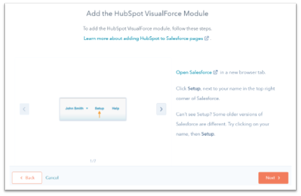 instructions-install-hubspot-visualforce-module
