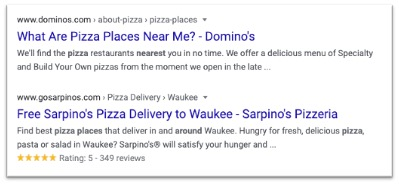 review-markup-SERP-example