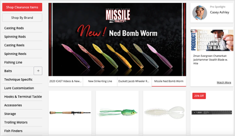 tackle-warehouse-homepage-navigation-menu
