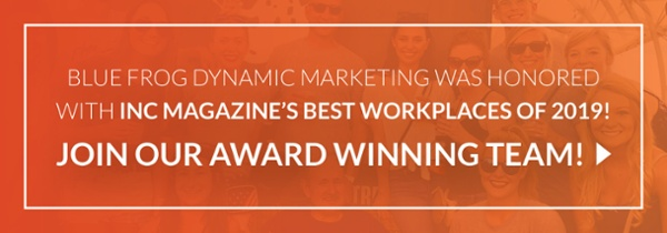 Join one of Inc Magazine's Best Workplaces of 2019! Apply today!